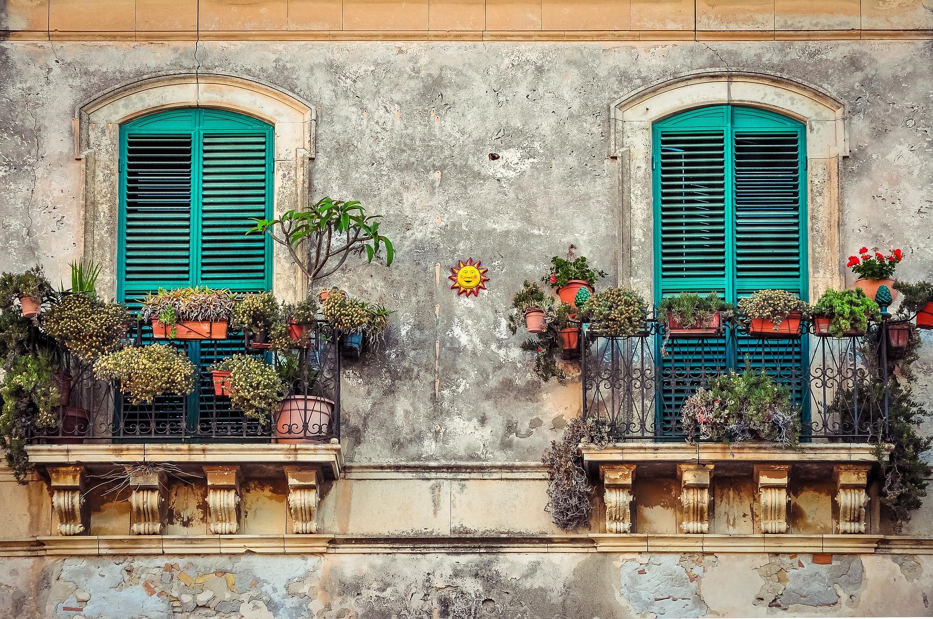 Бесплатная фотография: балкон, куба, дом, цвет, фиеста - бес.